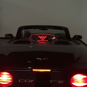 1997-2004 C5, Z06 Corvette Convertible WindRestrictor® Illuminated Windscreen