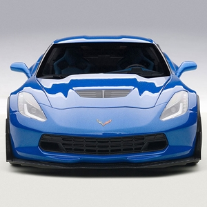 2015, 2016, 2017, 2018C7 Corvette Z06 Die Cast 1:18 - Laguna Blue