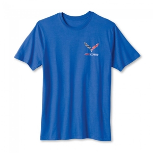 C7 Corvette Z06 T-shirt : Heather Blue