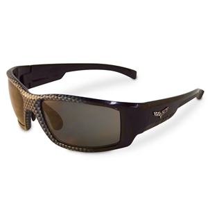Corvette Sunglasses with C6 Logo - Solar Bat Style 55