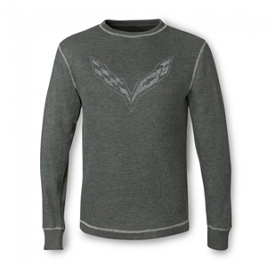C7 Corvette Vintage Thermal - Charcoal Heather : Stingray