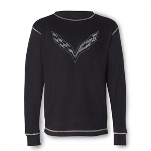 C7 Corvette Vintage Thermal - Black : Stingray