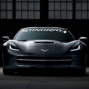 C7 Corvette Stingray Windshield Decal Kit for Stingray, Z51.