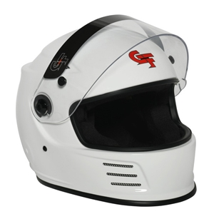 Corvette REVO Full Face SA2015 Helmet - G-Force Racing : White