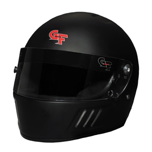 Corvette GF3 Full Face Helmet - G-Force Racing : Black