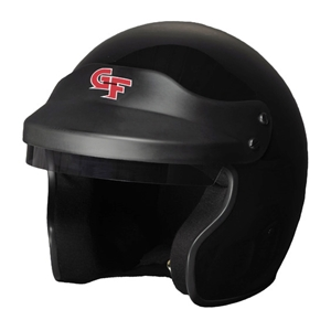 Corvette GF1 Open Face Helmet - G-Force Racing : Black