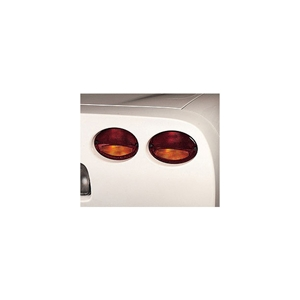 1997-2004 C5 & Z06 Corvette European Taillight Red Amber Lens - Right