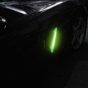 Corvette C6, Z06, ZR1 Fender Side Cove LED Lighting Kit with RGB Bluetooth