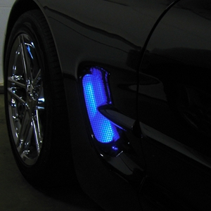Corvette C5, Z06 Fender Side Cove LED Lighting Kit with RGB Bluetooth