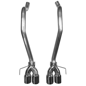 2005-2013 C6 Corvette MRT BadAss Series Quadflow KR Axle-back Exhaust System