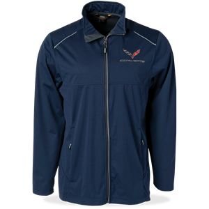 C7 Corvette Lite Three Layer Jacket : Navy