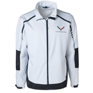 C7 Corvette Embark Soft Shell Jacket : White