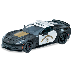 C7 Corvette Z06 Highway Patrol Diecast 1:24 Accessories. Corvette parts and accessories for your C5, C6, Z06, and ZR1.