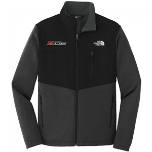 C7 Z06 Corvette North Face® Fleece Jacket - Black