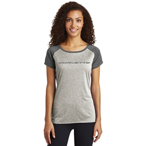 C8 Corvette Next Generation T-shirt - Ladies : Heather Gray