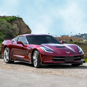 C7 Corvette Stingray or Grand Sport Front Splitter w/Side Skirts & Rear Corners from Street Scene