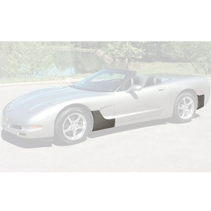 1997-2005 Corvette C5 and Z06 Cleartastic Fender I Paint Protection Kit