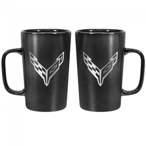 Next Generation Corvette 16 oz. Ceramic Mug - Black.