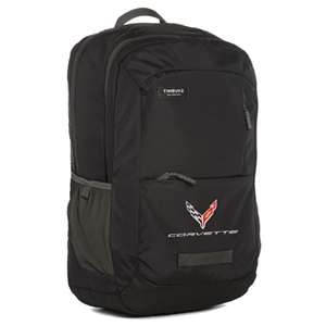 Next Generation Corvette Travel Backpack : Black.