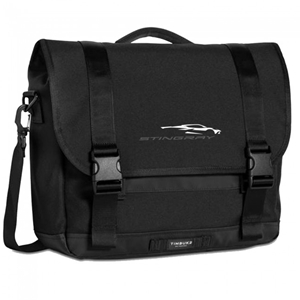 Next Generation Corvette Messenger Bag : Black.