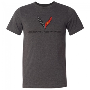 C8 Next Generation Corvette Jersey T-Shirt : Dark Gray.