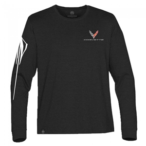 C8 Next Generation Corvette Stingray Gesture Jersey T-Shirt : Black.