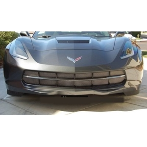 2014 C7 Corvette Stingray 12-Chamber Lower Valance Grille - Original Style Weave