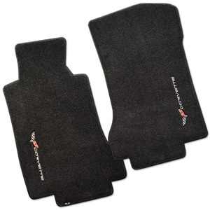 2005-2007 C6 Corvette Lloyd Ultimat Floor Mats with Sideways Emblem