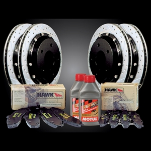 Corvette 97-05 Performance Brake Brake Package - Front & Rear 2pc. Rotors