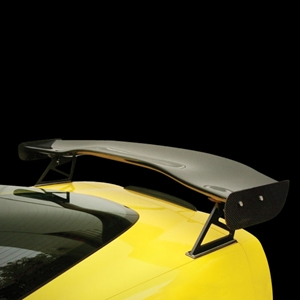 "Corvette Rear Wing - GTC-500 Adjustable Wing 70"" : 2005-2013 C6, Z06, ZR1, Grand Sport"