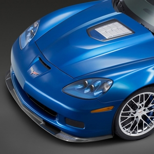 Corvette Front Splitter ZR1 GM - Carbon Fiber : 2006-2013 Z06,ZR1,Grand Sport