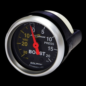 Corvette Boost Gauge - Auto Meter 20 PSI Boost Gauge : 1997-2013