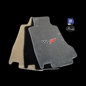 Corvette Lloyd Ultimat Floor Mats - Hook Anchor : 2007.5-2013 C6