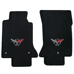 Corvette '97-'04 Lloyd's Embroidered Ultimat Floor Mats