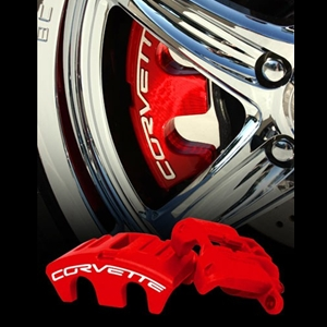 Corvette Brake Calipers C6 Red ,Black and Yellow Brake Calipers