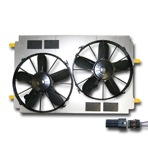 Corvette Cooling Fan Dual Upgrade : 97-04 C5,Z06
