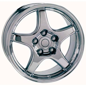 Corvette 94-96 GM 5 Spoke Chrome Exchange