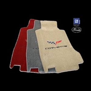 Corvette Lloyd Ultimat Floor Mats - C6 Emblem and Corvette Script : C6 2007.5-2013 Hook Anchor