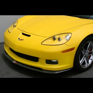 Corvette Front Splitter - Carbon Fiber : 2006-2013 Z06,Grand Sport