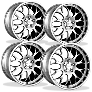 Corvette Wheels Custom - 1-Piece Forged Aluminum (Set) : Style SP20A