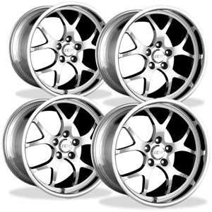 Corvette Wheels Custom - 1-Piece Forged Aluminum (Set) : Style SP510