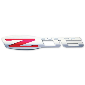 "Corvette C6 Z06 Emblem Wall Sign 36"" x 7"" : 2006-2013 Z06"