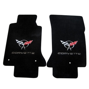 Corvette '97-'04 Lloyd's Embroidered Floor Mats