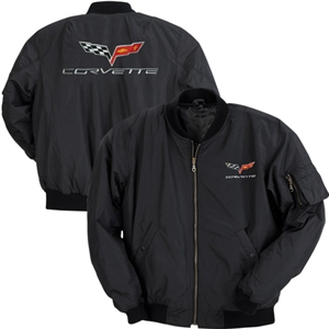 Corvette Aviator Jacket with C6 Logo : 2005-2013 C6