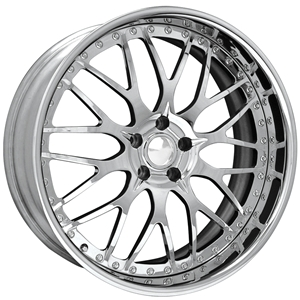 Corvette Custom Wheels - WCC Forged 944 : Chrome