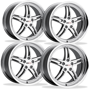 Corvette Wheels - Cray Scorpion (Set) : Chrome