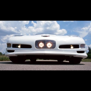 Corvette 97-04 C5 Front Bumper Auxiliary Lighting System