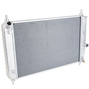 Corvette Radiator Direct Fit Aluminum : 2006-2013 Z06 NO Engine Oil Cooler