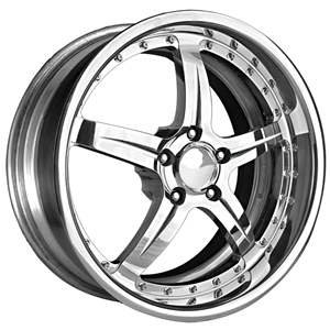 Corvette Custom Wheels - WCC Forged 945 : Chrome
