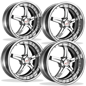 Corvette Custom Wheels WCC 945 Forged Series (Set): Chrome 19x9.5/20x12 2006-2011 C6Z06,ZR1